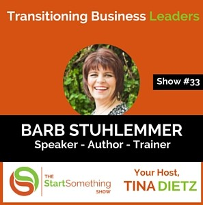 The Start Something Show with Tina Dietz - Show #33 interview