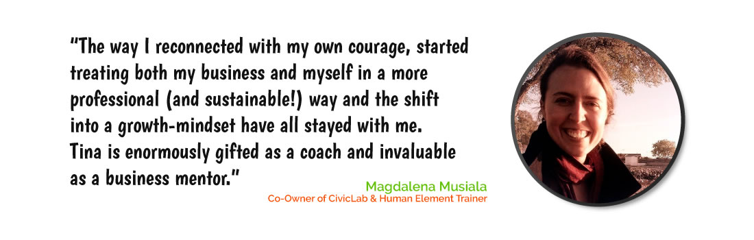 StartSomething Creative Business Solutions business leadership Magdalena Musiala testimonial